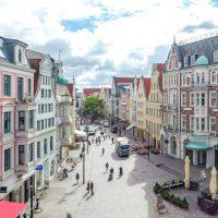 Luftaufnahme Rostock Innenstadt